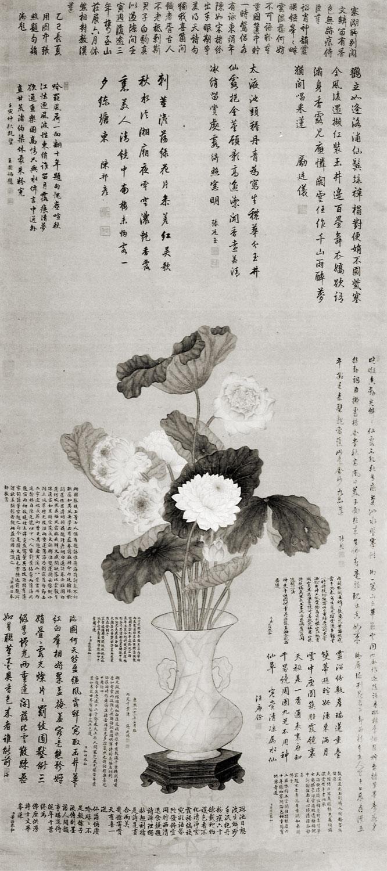 Images Knowledge And Empire Depicting Cassowaries In The Qing Ji Zhi Tang Jiang 29 Tingxi Aohan Qianyelian Lotus 1722 Hanging Scroll Colour On Silk 2157 X 965cm National Palace Museum Taipei