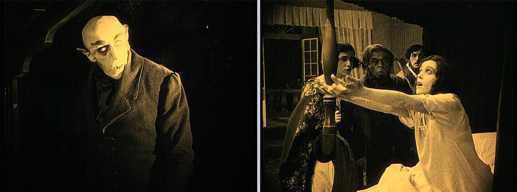 Stills from Murnau's Nosferatu