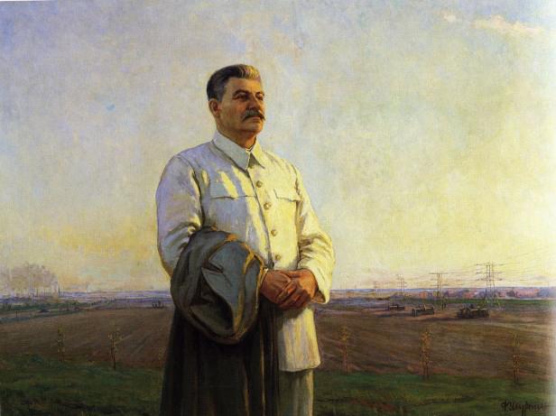 Josef Stalin portrait