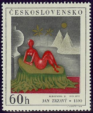 Czech Stamp of Kleopatra