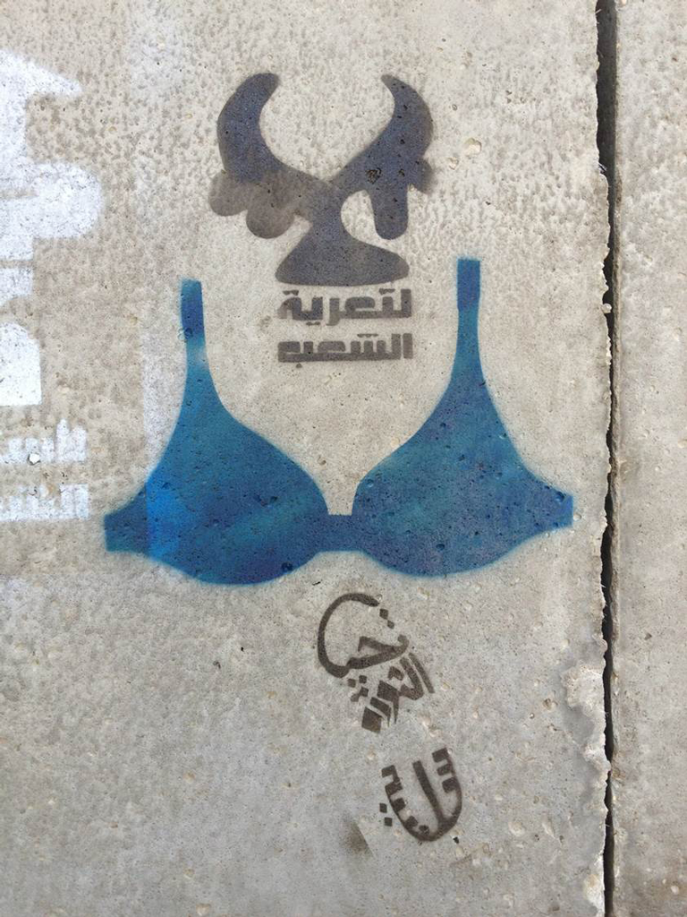 Bahia Shehab, The Blue Bra