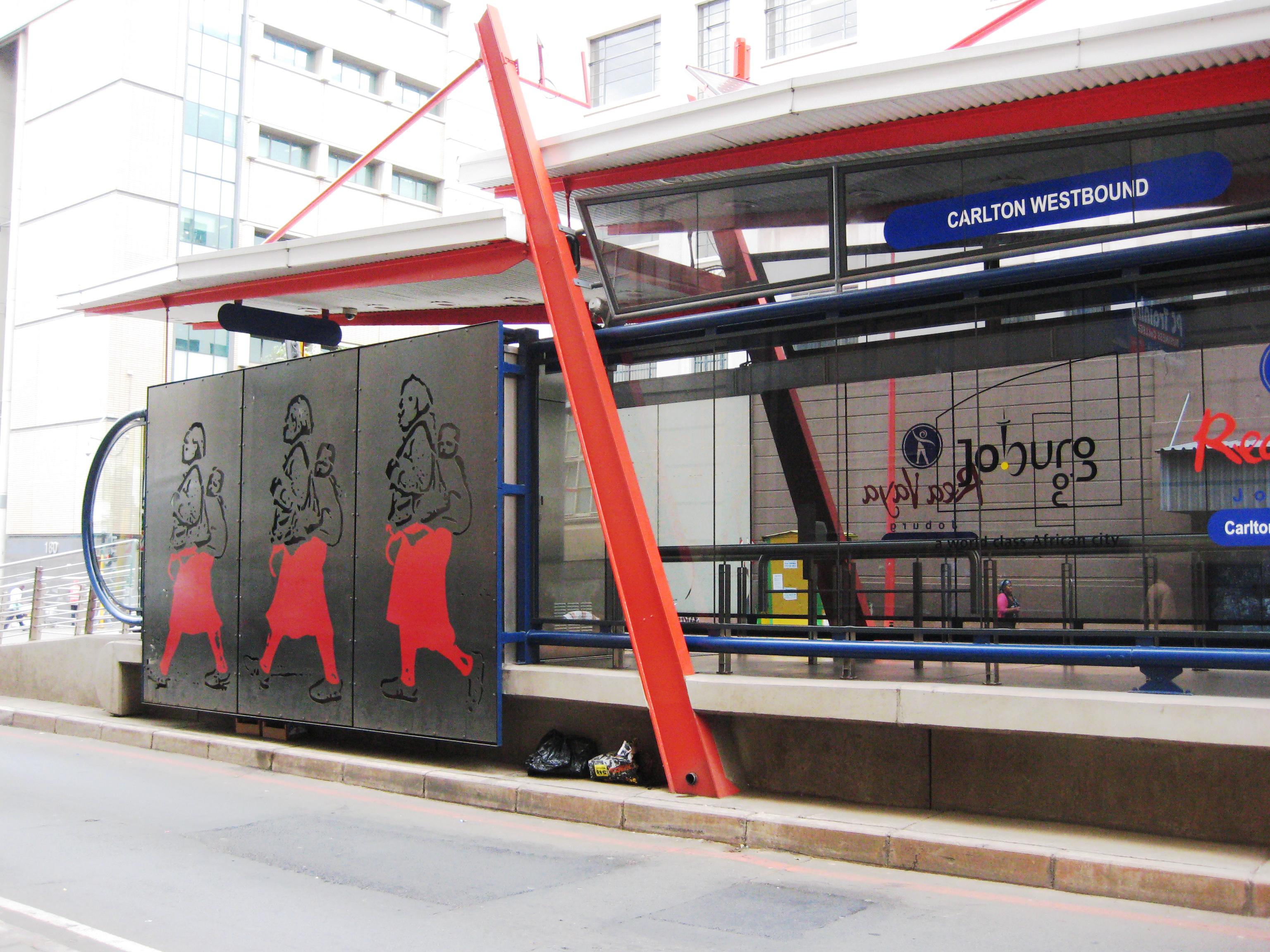 Rea Vaya bus station