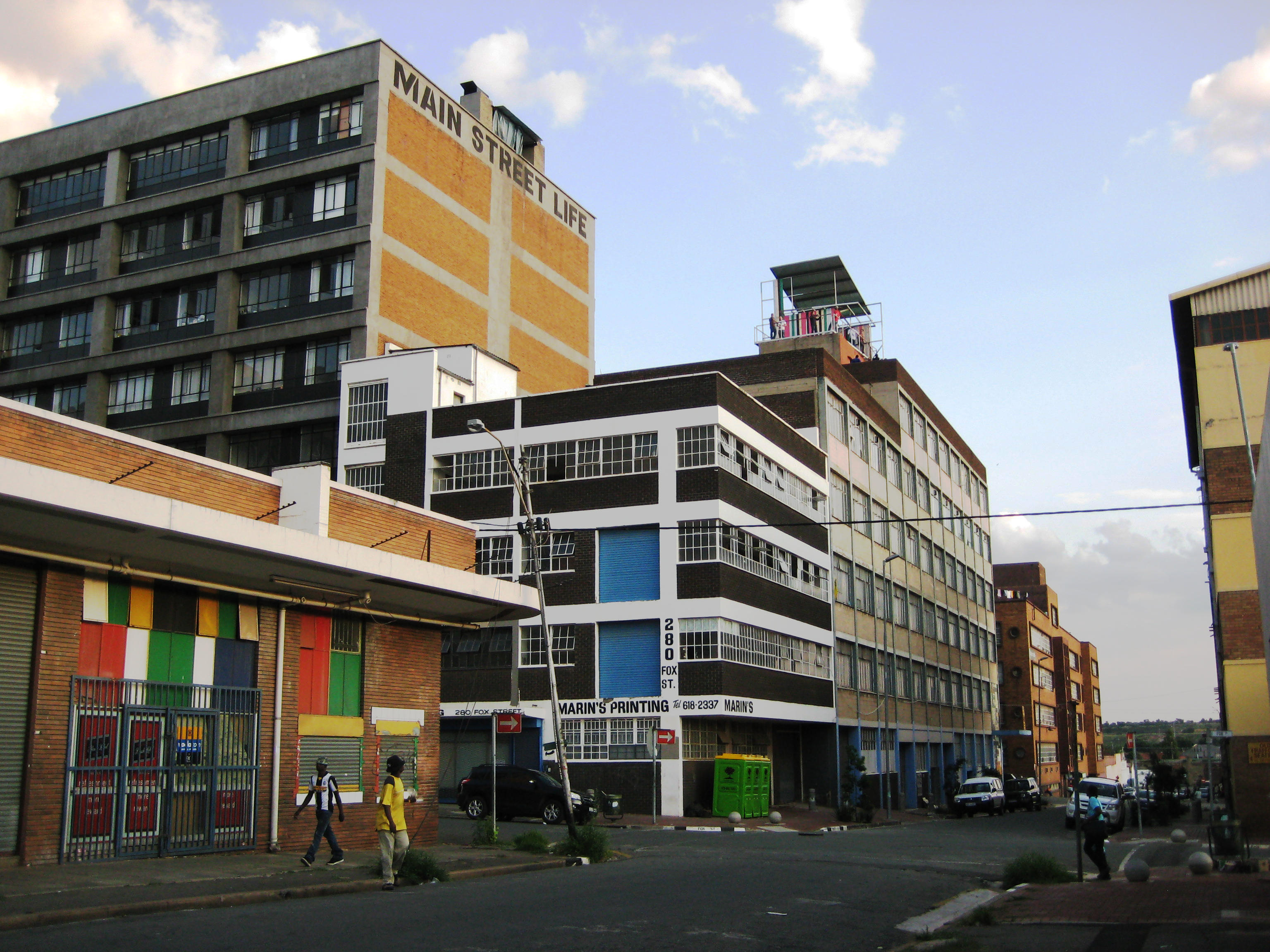 The Main Street Life building