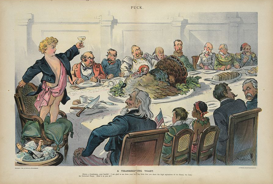 """A Thanksgiving Toast"""