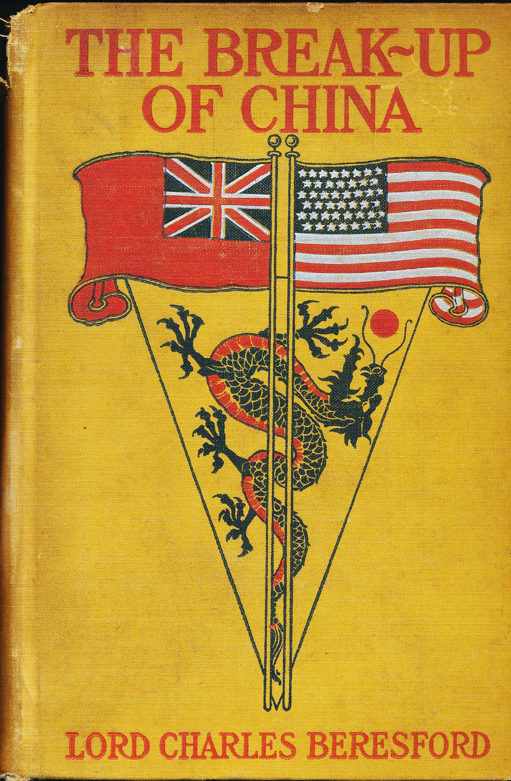 Lord Beresford, The Break-up of China, cover