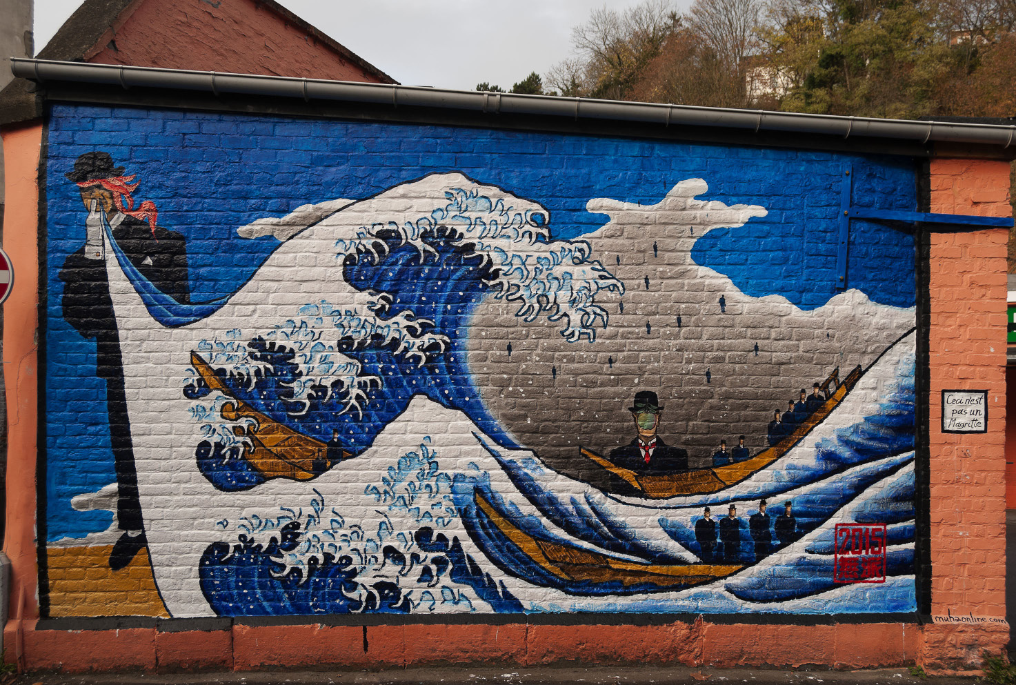 Ceci n'est pas un Magritte or The Great Wave of Verviers