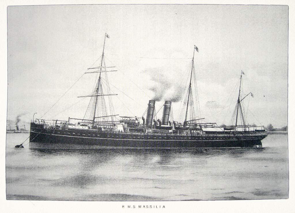 Steamship Massilia