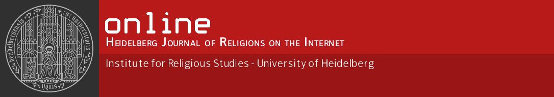 Online - Heidelberg Journal of Religions on the Internet