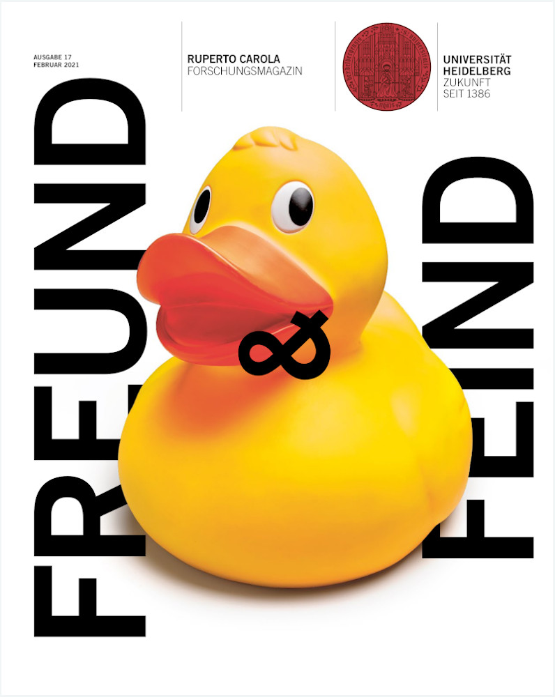 Cover des Forschungsmagazins Ruperto Carola, Ausgabe 17/2021
