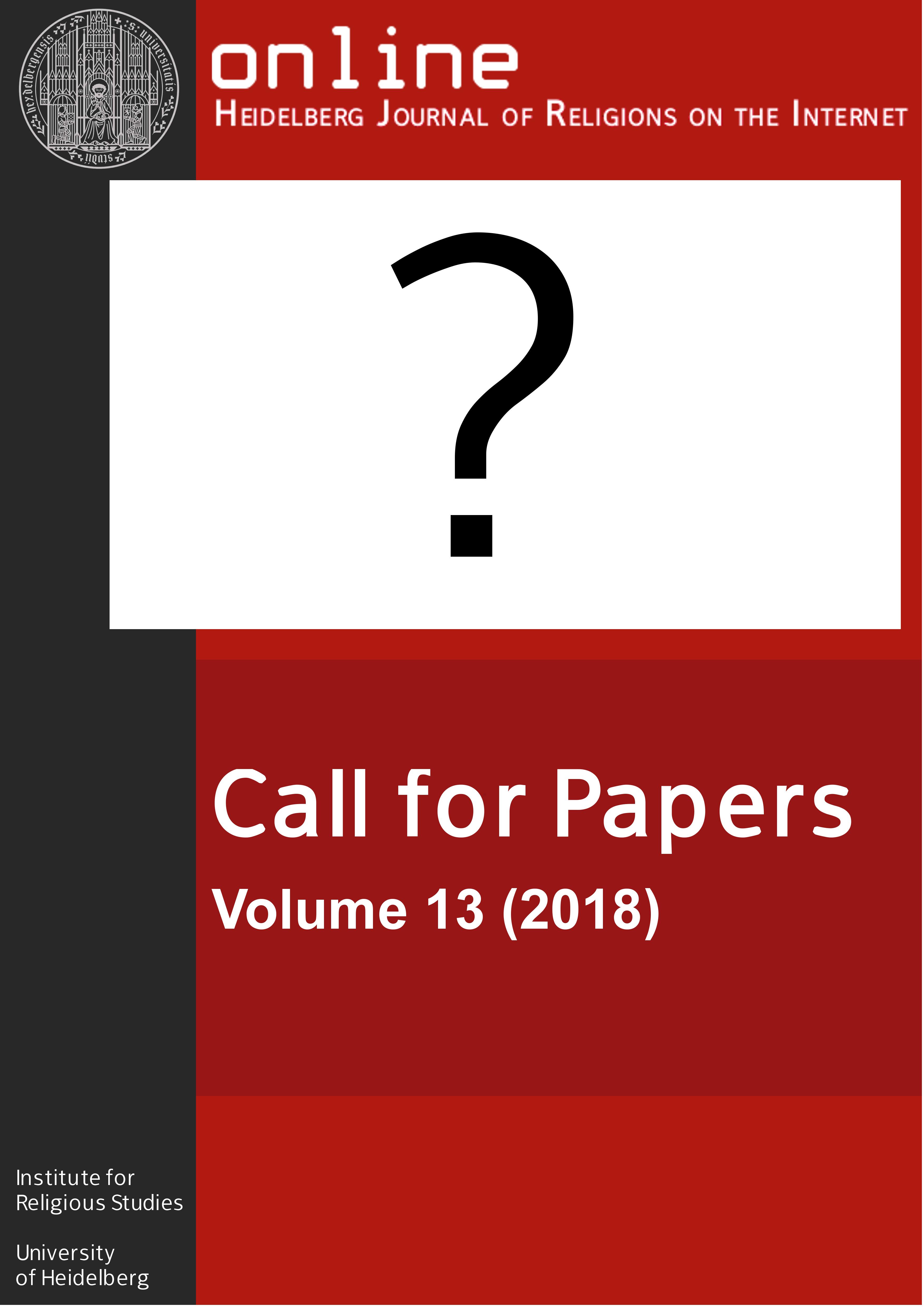 Online - Heidelberg Journal of Religions on the Internet